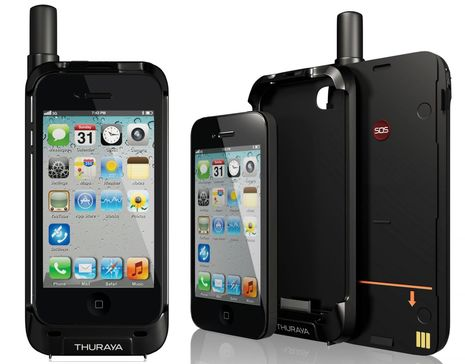 Thuraya satsleeve Iphone 5 satelliet telefoon